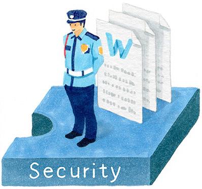 セキュリティ機能能イメージ